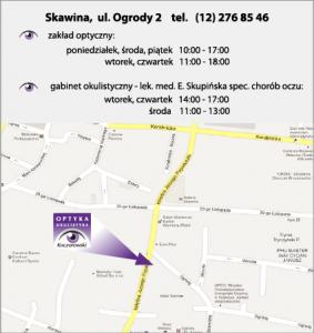 mapka Skawina