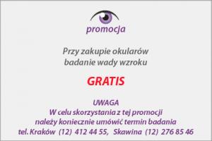 promocja badanie gratis