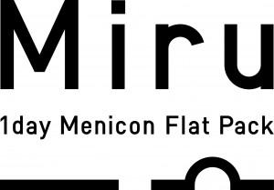 Miru 1day Menicon Flat Pack Logo